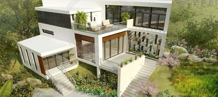 Tư vấn mẫu thiết kế biệt thự đẹp ở Bạc Liêu