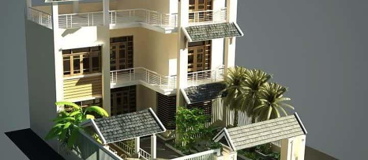 Mẫu thiết kế nhà đẹp ở Bình Định