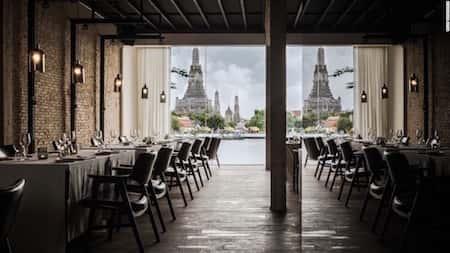 mau thiet ke nha hang dep 14 - Thiết kế thi công nhà hàng đẹp sang trọng