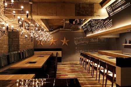 mau thiet ke nha hang dep 4 - Thiết kế thi công nhà hàng đẹp sang trọng