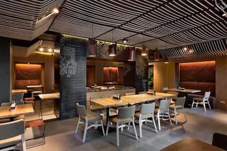 mau thiet ke nha hang dep 9 - Thiết kế thi công nhà hàng đẹp sang trọng