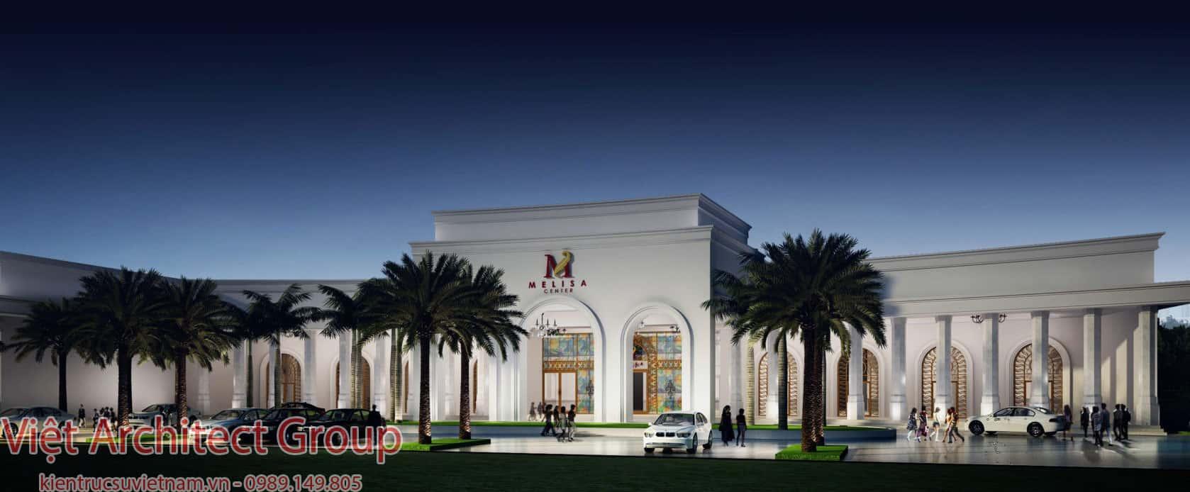 melisa center 1 - Thiết kế trung tâm tổ chức sự kiện nhà hàng tiệc cưới