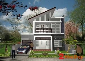 nhà 2 tầng hiện đại 8×12 deat 300x215 - Thiết kế nhà 2 tầng hiện đại 8×12m đẹp