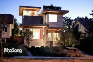 nhà 2 tầng hiện đại 8×12 nam 300x200 - Thiết kế nhà 2 tầng hiện đại 8×12m đẹp