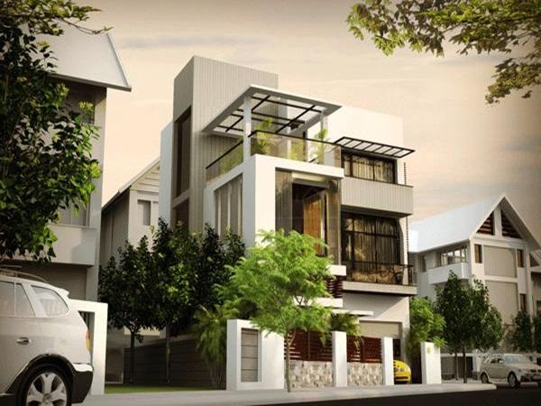 nhà 3 tầng có gara oto đẹp 09 - Bộ sưu tập những thiết kế nhà đẹp nhất
