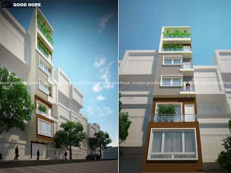 nha co thang may 5 - 20 Mẫu thiết kế nhà ống có thang máy đẹp với kiến trúc hiện đại