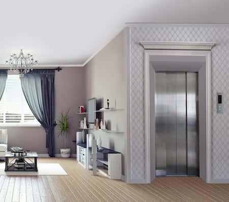 nha co thang may dep 3 - Thiết kế nhà biệt thự có thang máy đẹp