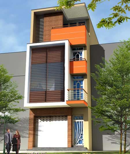 nha ong 3 tang dep89 - Thiết kế nhà 3 tầng đẹp