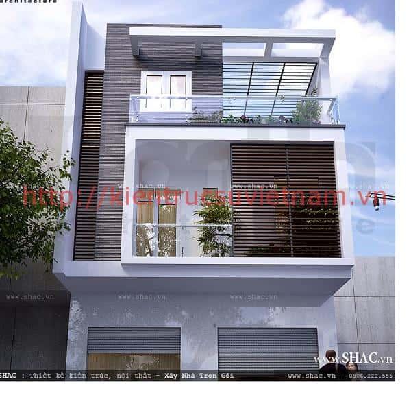 nha pho 3 tang mat tien rong sh nod 0096 1024x1024 - Thiết kế nhà phố mặt tiền rộng 10m