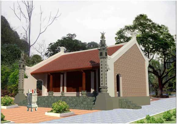 nha tho ho dep - Thiết kế nhà thờ họ Vinh, Nghệ An