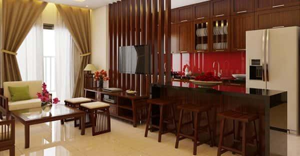 10 mẫu thiết kế nội thất nhà đẹp  mang phong cách truyền thống