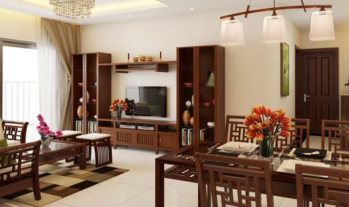 noi that phong khach bang go hien dai nhat hien nay 2 - Thiết kế nội thất phòng khách đẹp