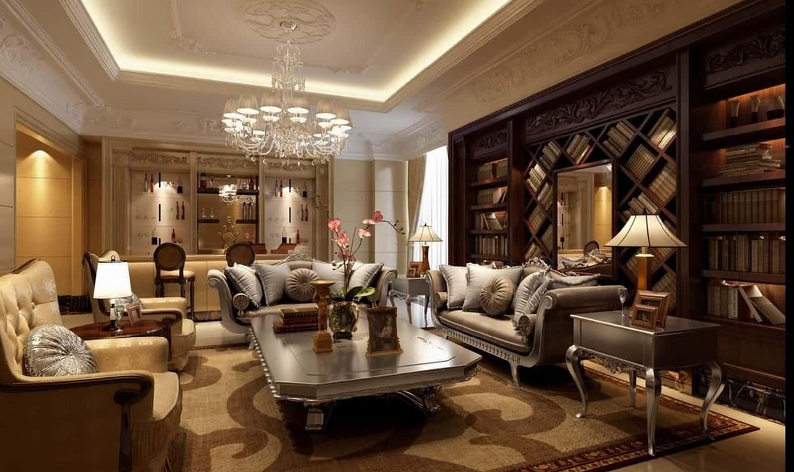noi that phong khach co dien 2 - Thiết kế nội thất phòng khách - 4 bước đơn giản tạo nên không gian đẹp