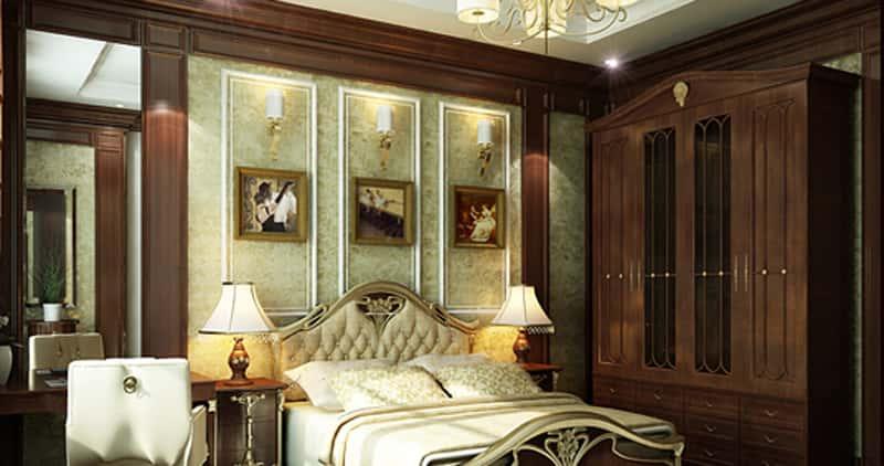 noi that phong ngu biet thu 009 - Thiết kế nội thất phòng ngủ đẹp
