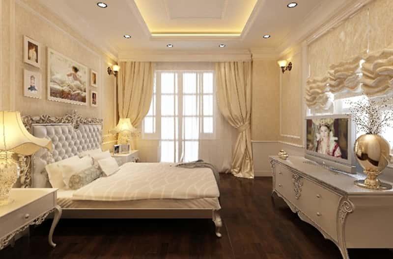 noi that phong ngu biet thu 102 - Tư vấn thiết kế nội thất biệt thự đẹp mang phong cách Châu Âu