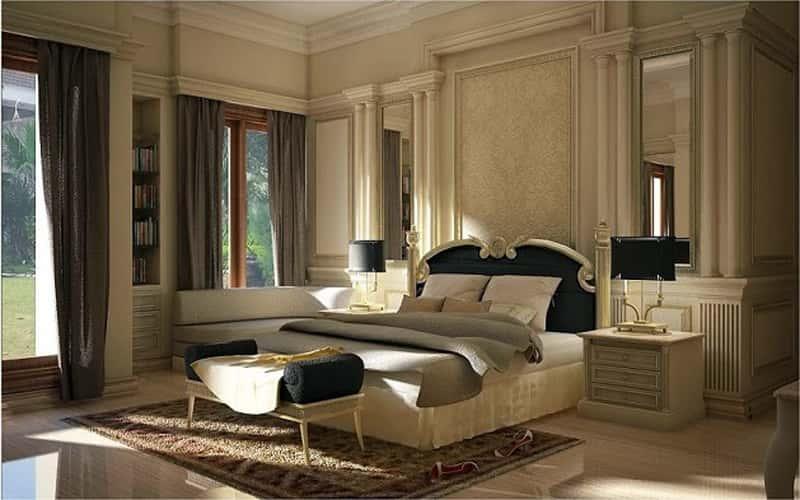 noi that phong ngu biet thu 19 - Thiết kế nội thất phòng ngủ đẹp