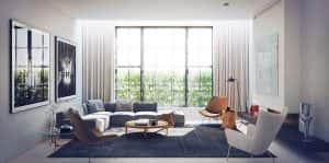 phong khach dep 1 300x149 - Thiết kế nội thất phòng khách - 4 bước đơn giản tạo nên không gian đẹp