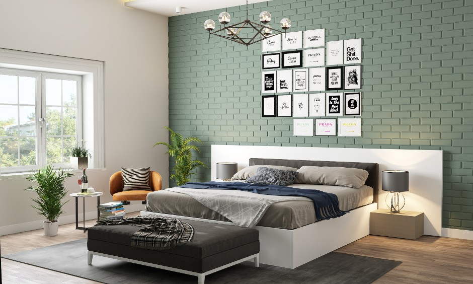 phong ngu co ti vi dep - Thiết kế nội thất phòng ngủ đẹp