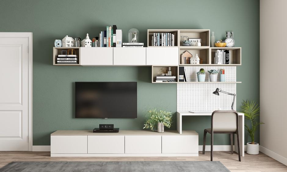 phong ngu co ti vi - Thiết kế nội thất phòng ngủ đẹp