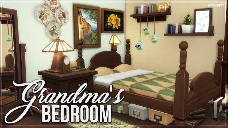 phong ngu ong ba lon tuoi dep - Thiết kế nội thất phòng ngủ đẹp