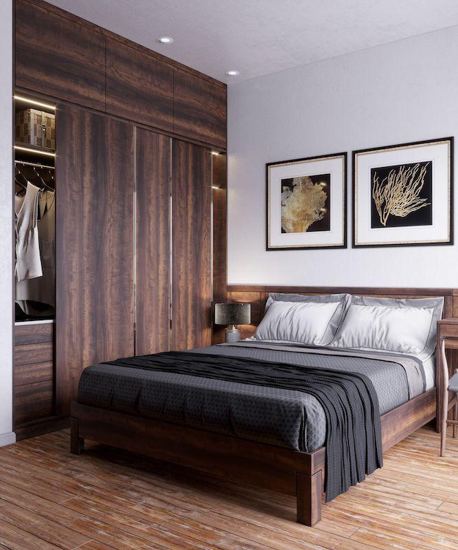 phong ngu ong ba lon tuoi - Thiết kế nội thất phòng ngủ đẹp