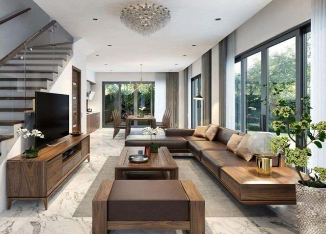 sofa go phong khach e1591864491514 - Bộ bàn ghế sofa gỗ đẹp hiện đại sang trọng đẳng cấp