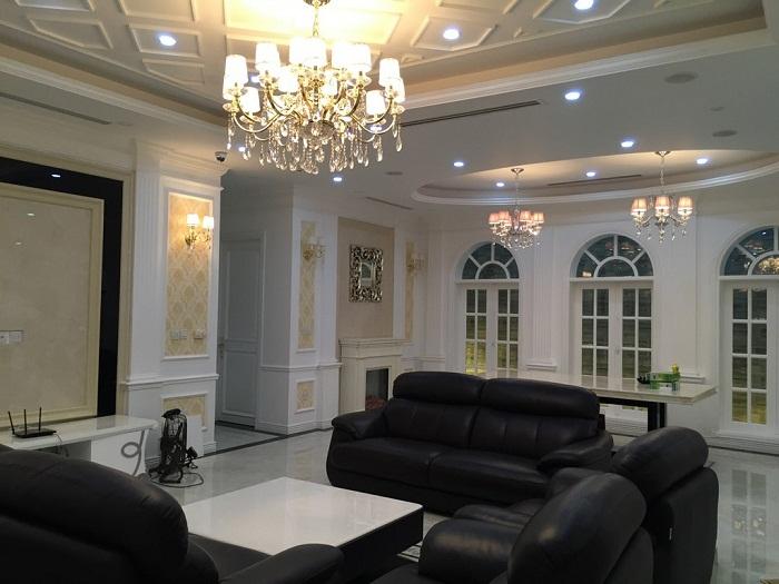 thiết kế nội thất biệt thự 1 - Thiết kế nội thất biệt thự đẹp sang trọng