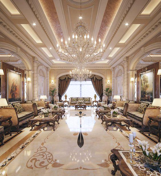 thiết kế nội thất biệt thự 4 - Thiết kế biệt thự 2 tầng kiểu pháp