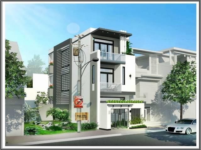 thiết kế nhà 3 tầng mặt tiền rộng 5m