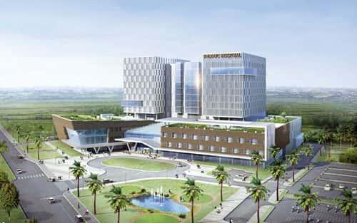 Bộ sưu tập những thiết kế bệnh viện