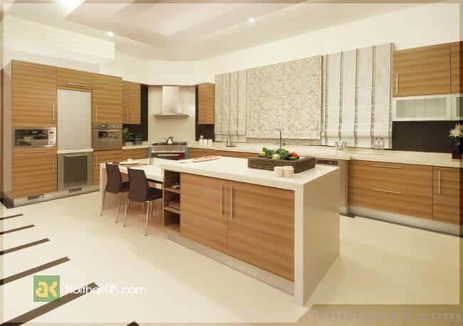 thiet ke bep dep  - Thiết kế nội thất bếp - Ý tưởng táo bạo để khẳng định đẳng cấp