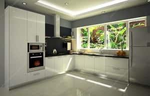 thiet ke bep dep 20130415133417 300x193 - Thiết kế nội thất bếp - Ý tưởng táo bạo để khẳng định đẳng cấp