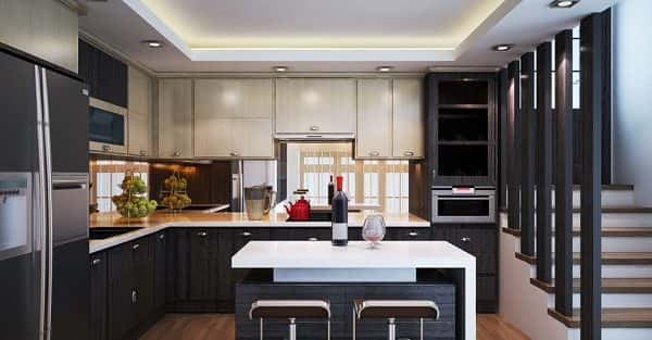 Thiết kế nội thất không gian nhà bếp đẹp tiện nghi