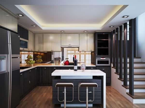 thiet ke bep dep anh son 1 - Thiết kế nội thất bếp - Ý tưởng táo bạo để khẳng định đẳng cấp