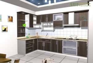 thiet ke bep dep thiet ke bep 004 300x205 - Thiết kế nội thất bếp - Ý tưởng táo bạo để khẳng định đẳng cấp