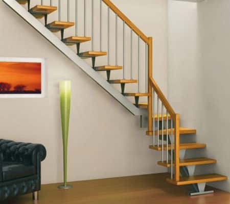 thiet ke cau thang dep Thiet ke cau thang an toan va tham my 1 - Tổng hợp các mẫu thiết kế cầu thang đẹp hiện nay