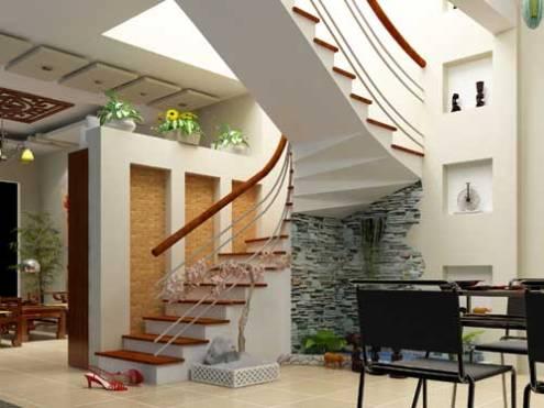 thiet ke cau thang dep cầu thang cho nhà phố - Tổng hợp các mẫu thiết kế cầu thang đẹp hiện nay