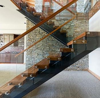 thiet ke cau thang dep cầu thang gỗ 1 - Tổng hợp các mẫu thiết kế cầu thang đẹp hiện nay