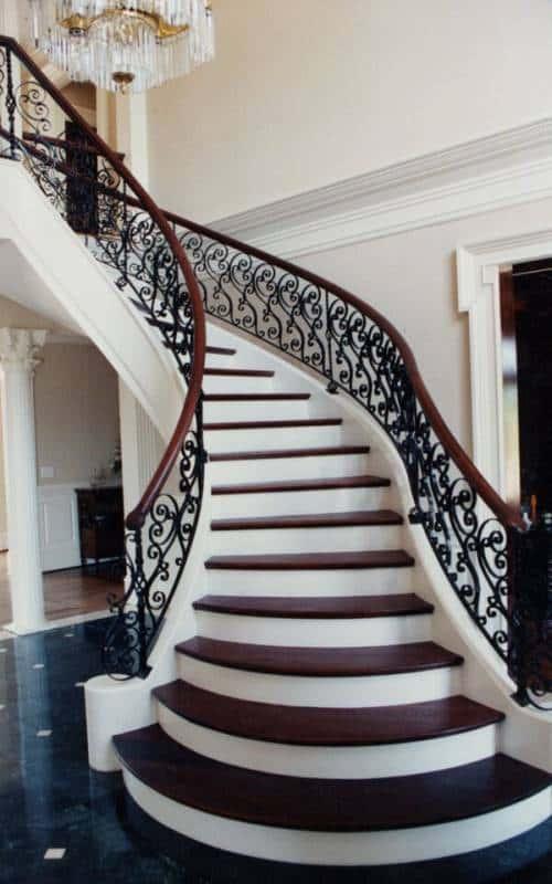 thiet ke cau thang dep thiet ke cau thang hop phong thuy 4 - Tổng hợp các mẫu thiết kế cầu thang đẹp hiện nay
