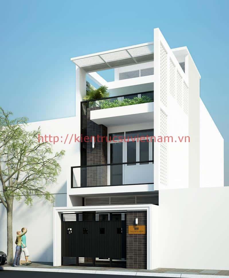 thiet ke nha 3 tang 4x12m dep 3 - thiết kế nhà 3 tầng 4x12m