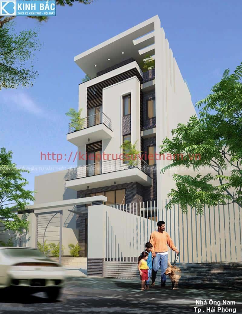 thiet ke nha 3 tang 4x12m dep 5 - thiết kế nhà 3 tầng 4x12m