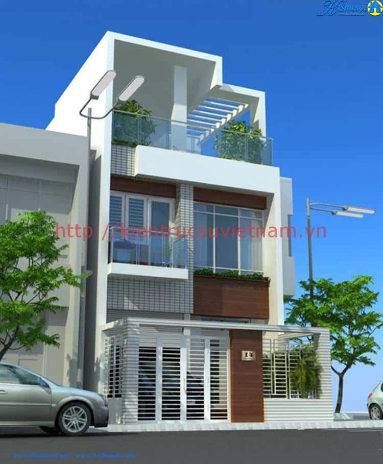 thiet ke nha 3 tang 4x12m - thiết kế nhà 3 tầng 4x12m
