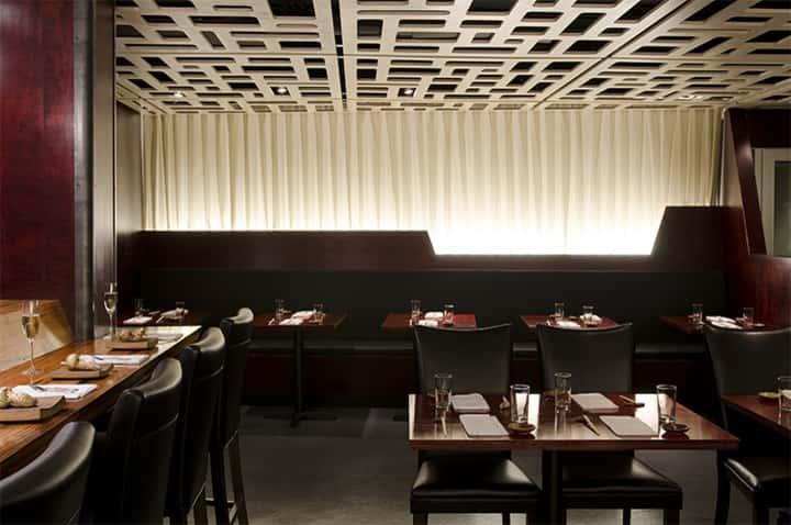 thiet ke nha hang dep ms001 - Thiết kế thi công nhà hàng đẹp sang trọng