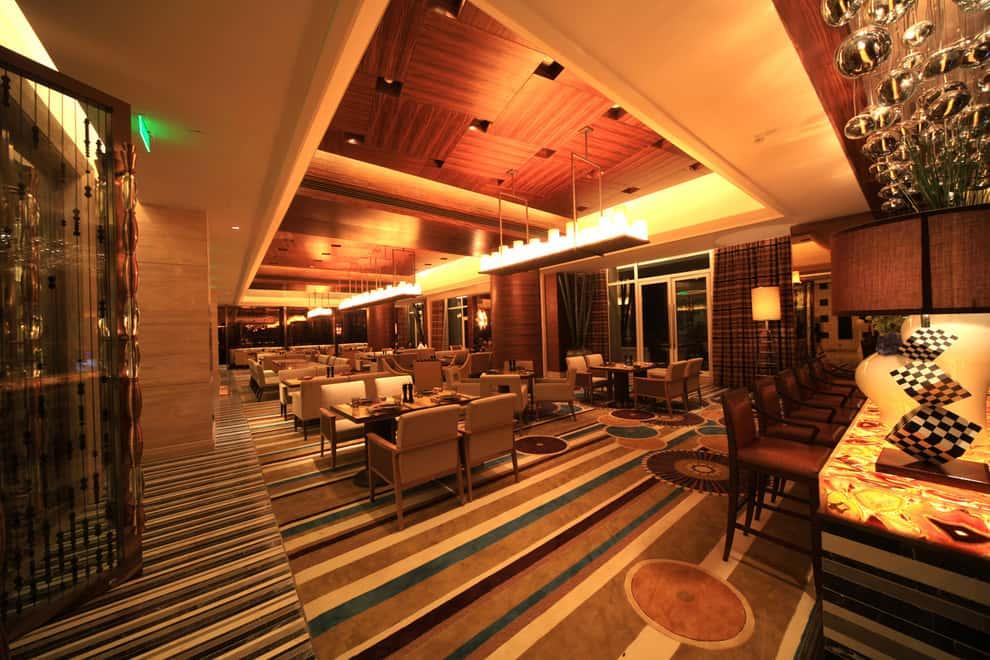 thiet ke nha hang dep ms001a - Thiết kế thi công nhà hàng đẹp sang trọng