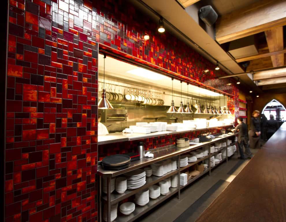 thiet ke nha hang dep ms02 - Thiết kế thi công nhà hàng đẹp sang trọng