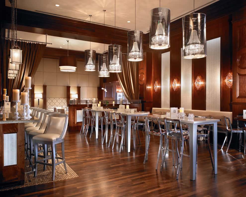 thiet ke nha hang dep ms087 - Thiết kế thi công nhà hàng đẹp sang trọng