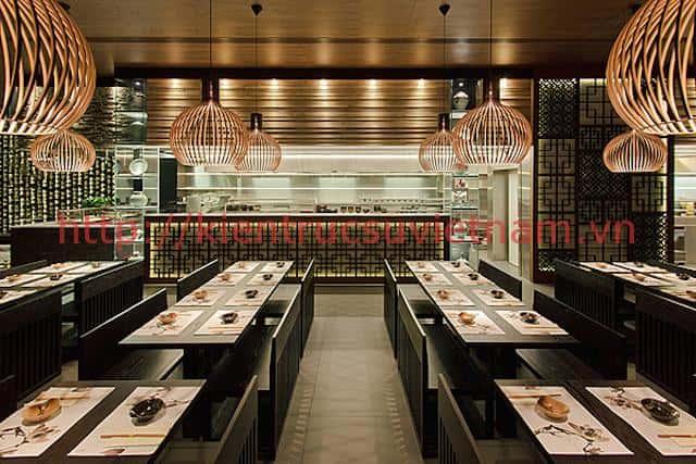 thiet ke nha hang han quoc 3 - Thiết kế và thi công nhà hàng phong cách Hàn Quốc