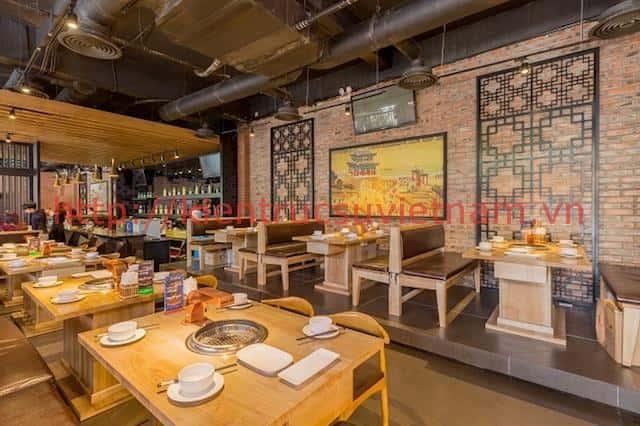 thiet ke nha hang han quoc dep 1 - Thiết kế thi công nhà hàng đẹp sang trọng