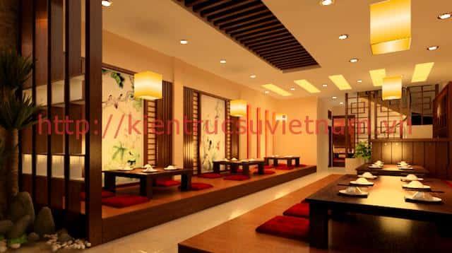 thiet ke nha hang han quoc dep 3 - Thiết kế và thi công nhà hàng phong cách Hàn Quốc