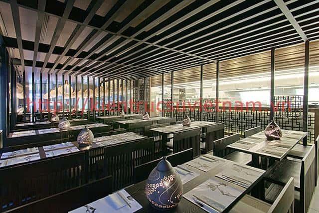 thiet ke nha hang han quoc dep 4 - Thiết kế và thi công nhà hàng phong cách Hàn Quốc